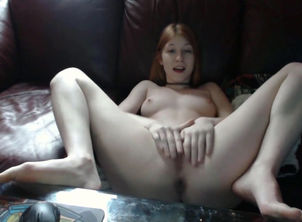 Ginger-haired virgin with jaw-dropping..