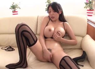 Scorching big-titted oriental mummy..