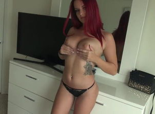 Red-haired Hooker Plowing a Stranger