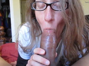 Buxom Becky taking a Big black cock..