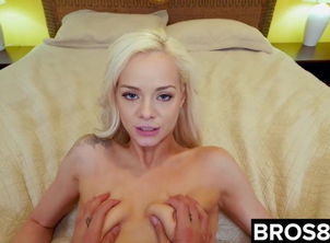 Elsa Jean Smashes Her Spying StepBro